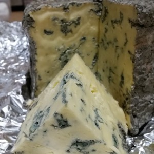 Hand made blue cheese