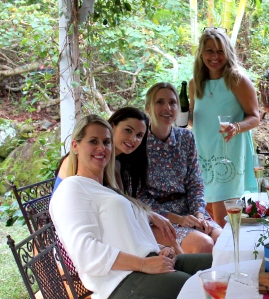 Rachek, bride to be, Melissa, Toni and Helen