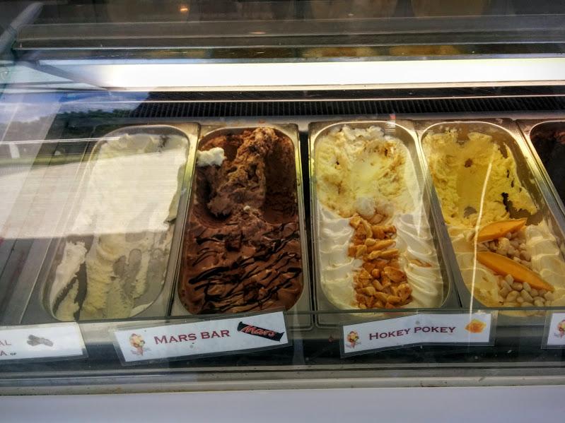 gelati at lighthouse cafe