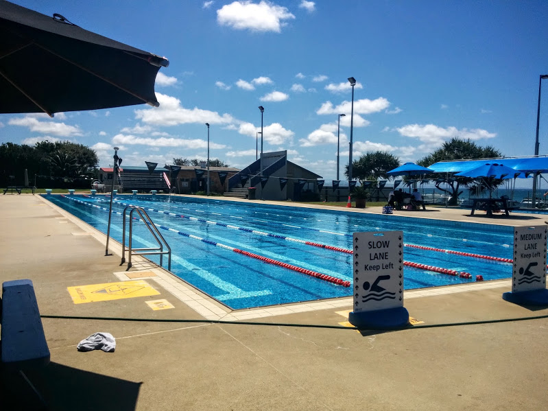 plenty of lanes for serious swimmers