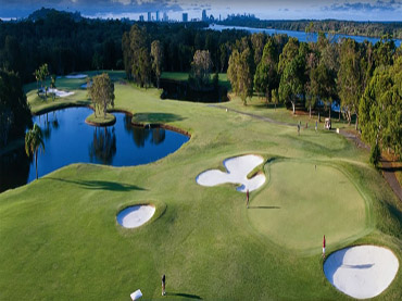 The river course at Tweed Heads
